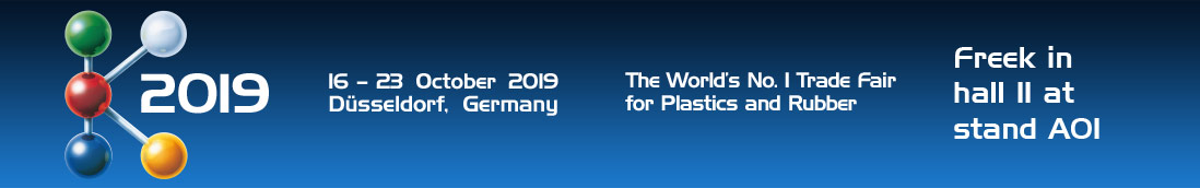K 2019 - The World's No. 1 Trade Fair for Plastics and Rubber