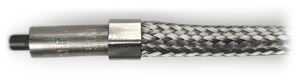 Type ND - Braided metal sleeve