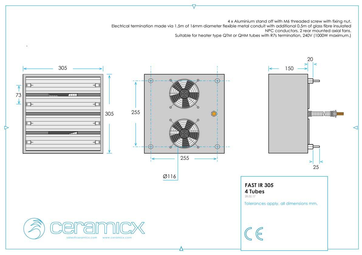 Quartz Tube Heater Wiring Diagram 240v Electrical Baseboard Electric Short Wave Emitters Heating Elements Friedr For 220v