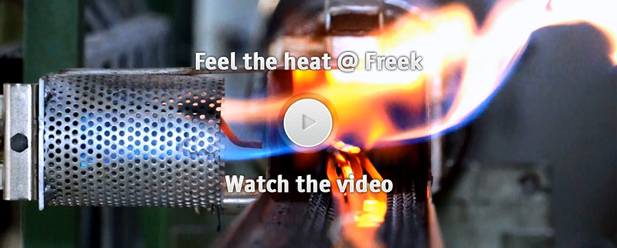 Feel the heat @ Freek - Watch the video